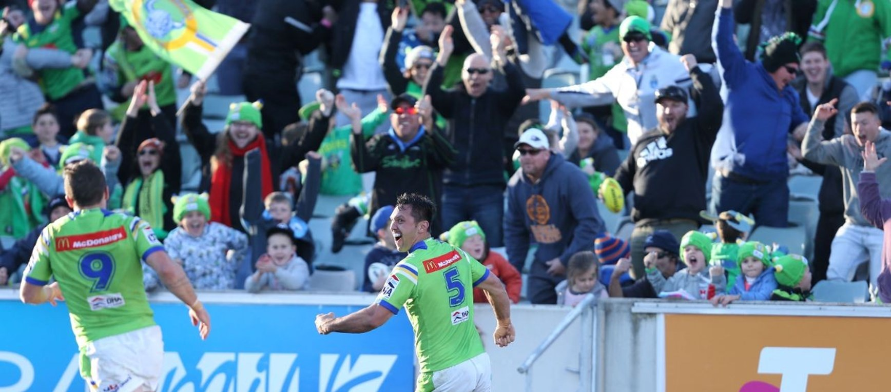 Gallery: Raiders v Knights