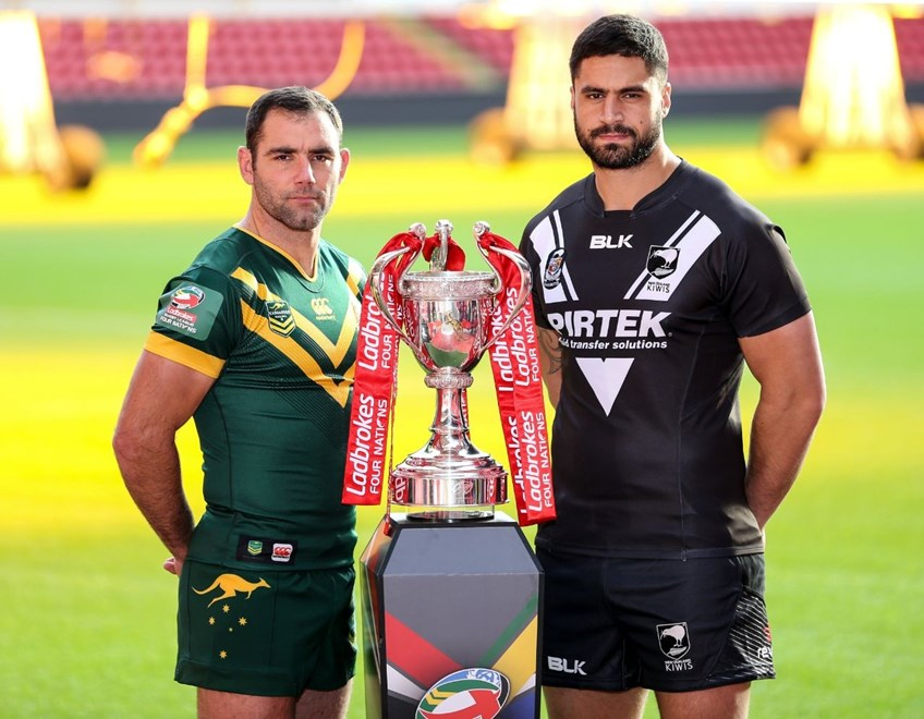 2016 International Rugby League, 4 Nations - Final Press Conference  AUSTRALIAN KANGAROOS v New Zealand.
