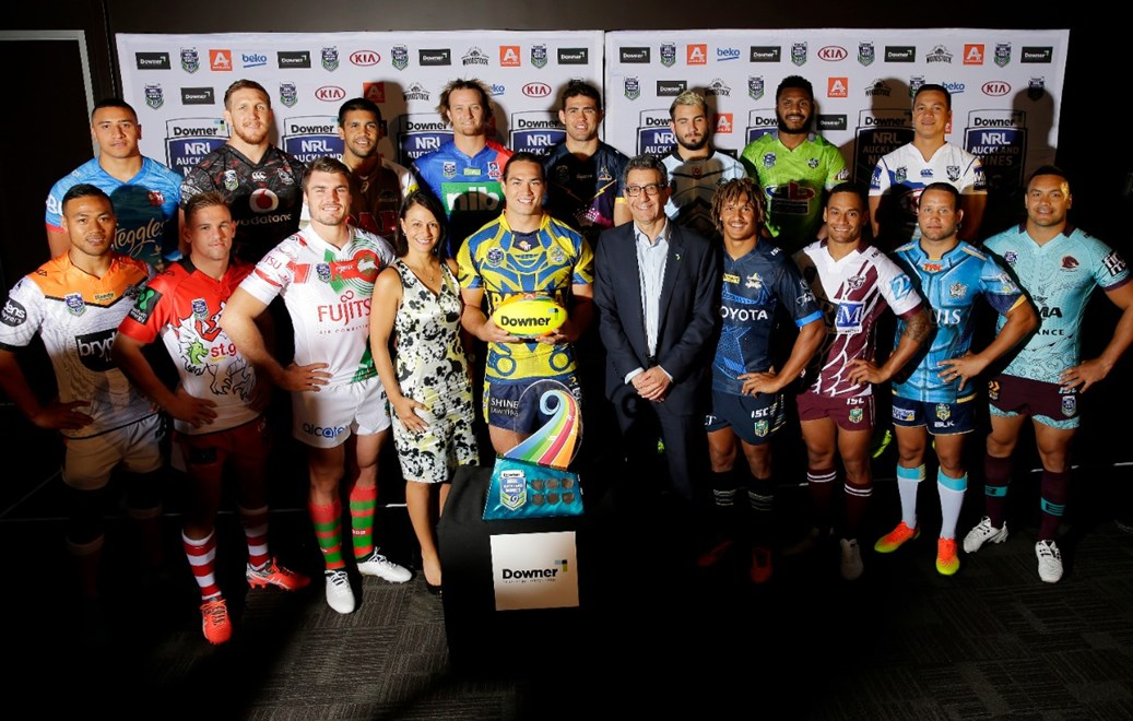 Auckland 9s Jersey Launch.