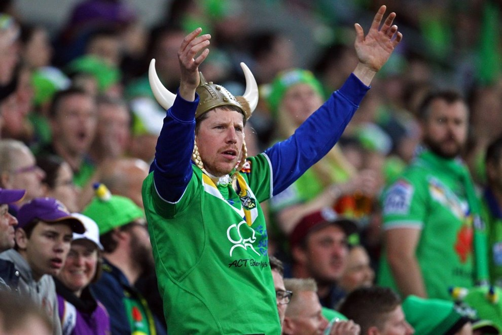 NRL Premiership - Preliminary Final - Melbourne Storm V Canberra Raiders - 24 September 2016 - AAMI Park, Melbourne, Vic - Ian Knight
