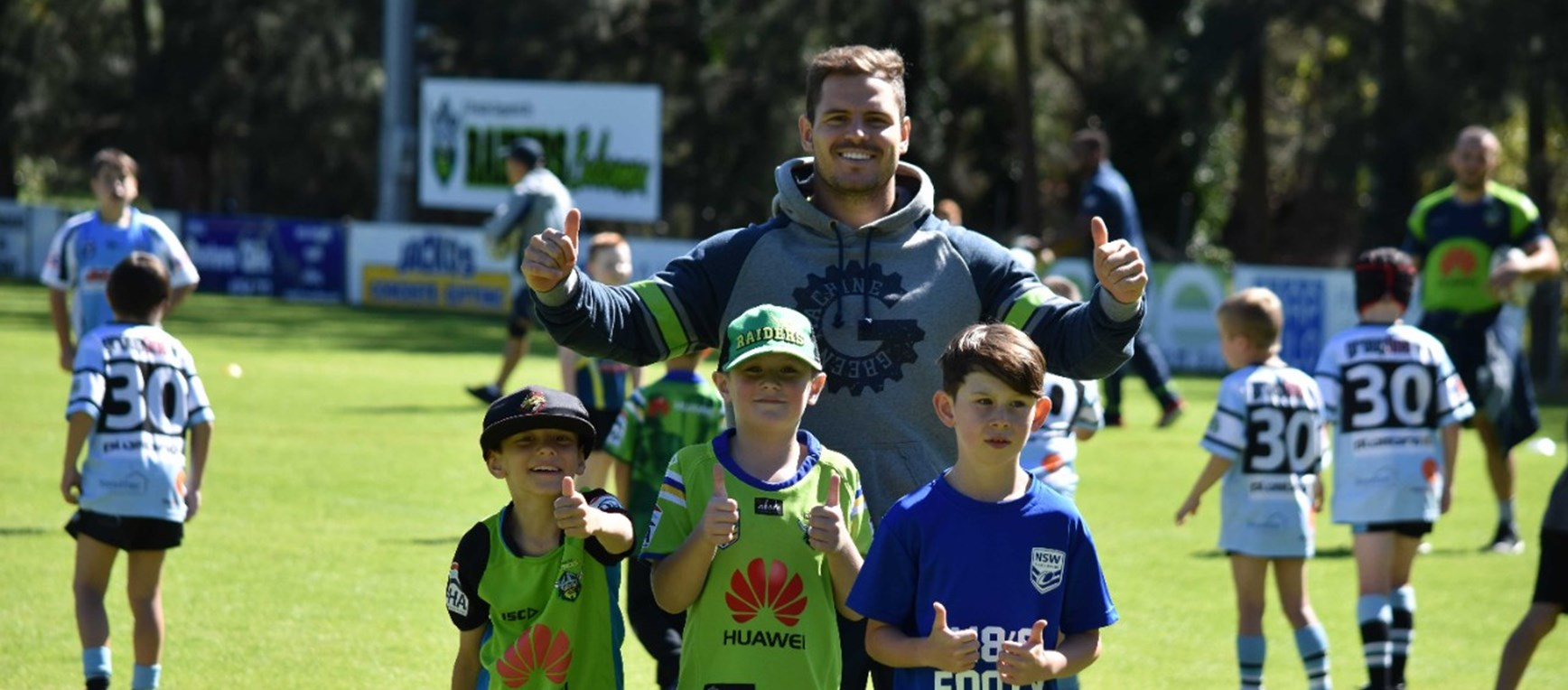 Gallery: Play NRL Canberra School Holiday Clinic