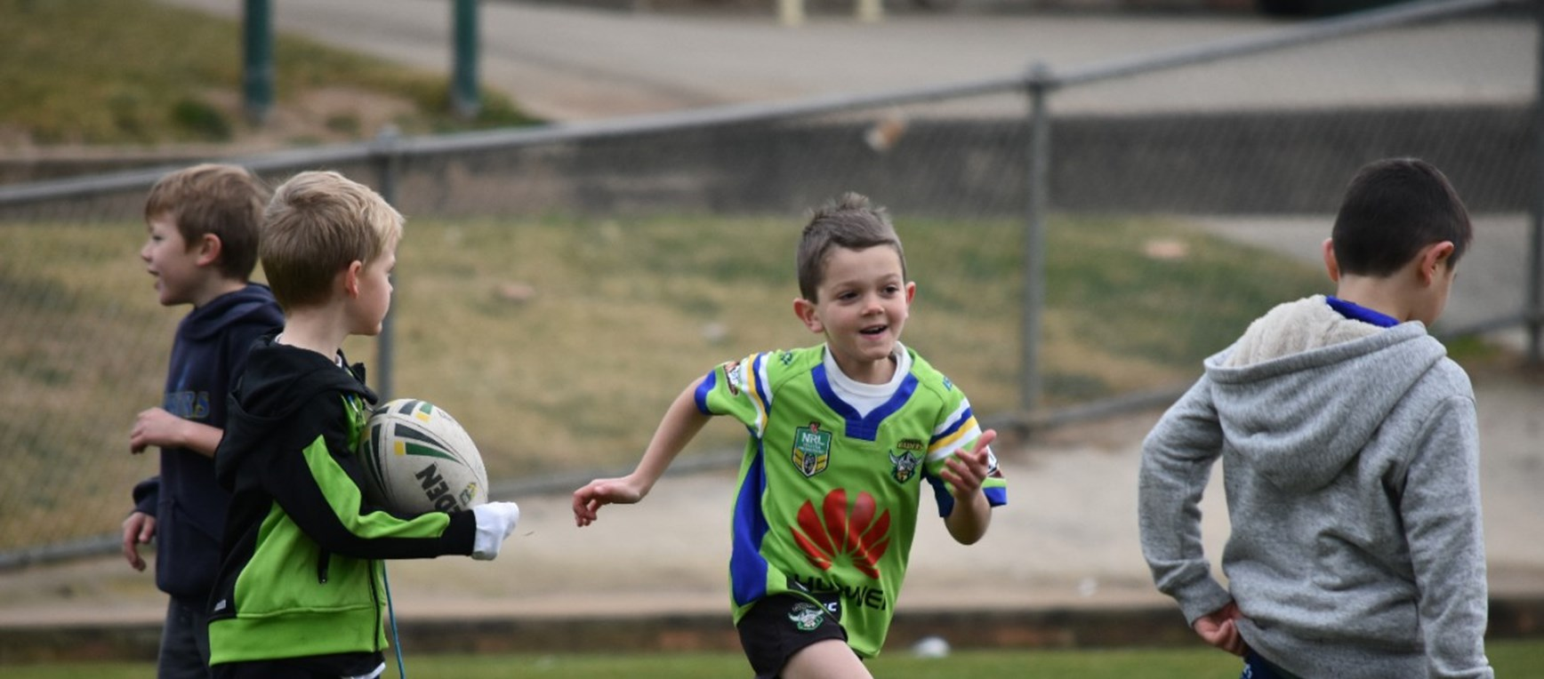 Gallery: Play NRL Canberra Clinic
