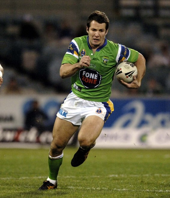 : NRL Round 13, Raiders V Rabbitohs at Canberra Stadium, Saturday, June 3rd, 2006. Digital image by Mark Graham, � Action Photographics.