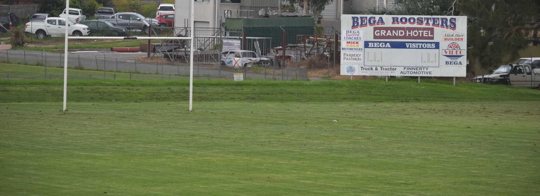 Raiders visited the Bega Recreation Ground on Thursday to discuss a possible trial in 2019.