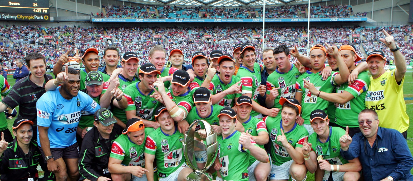 Gallery: Canberra Raiders Greatest NYC Team