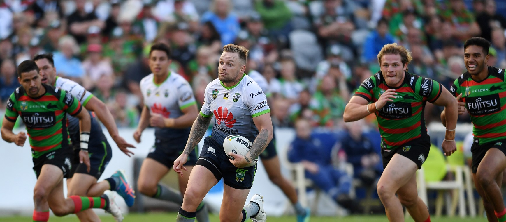 In pictures: Raiders v Rabbitohs
