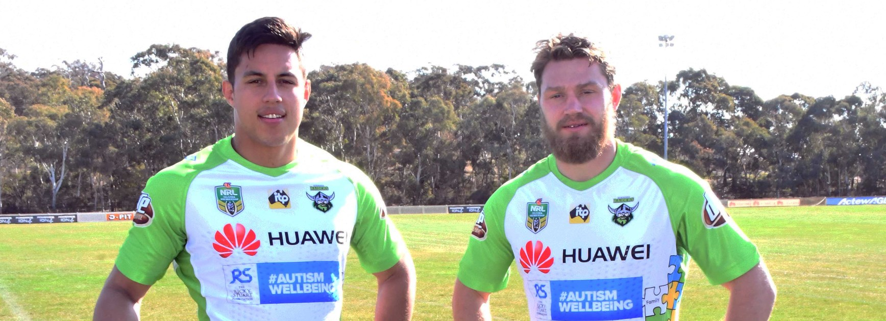 Huawei Launches 2018 Raiders Charity Jersey