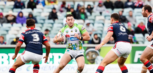 Match Report: Raiders hold off Roosters for inspiring win