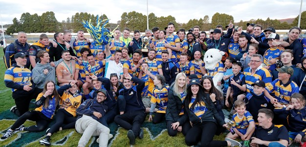 Lincoln Withers Leads Woden To First Premiership in 22 Years