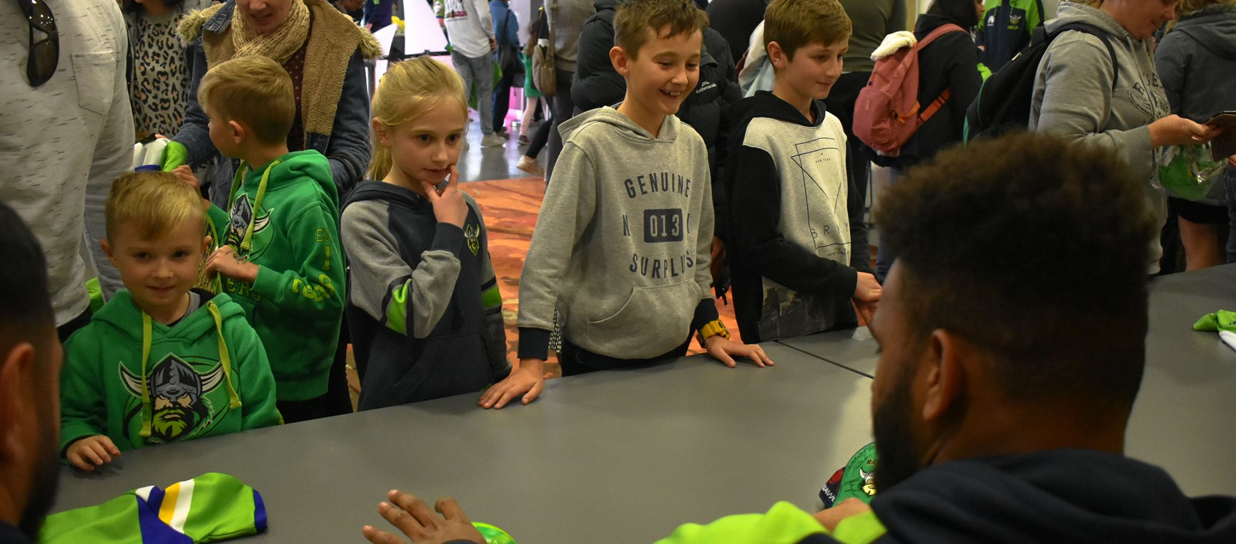 Gallery: ActewAGL Signing Session