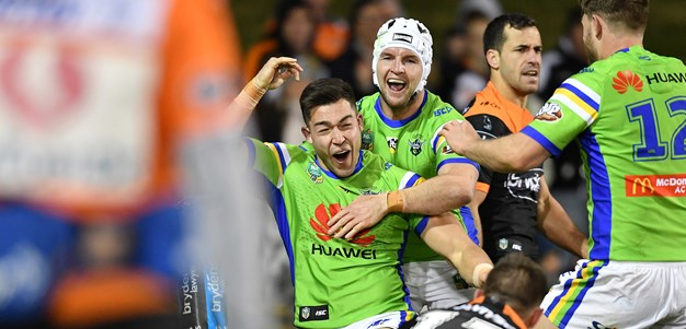 Match Gallery: Raiders v Wests Tigers