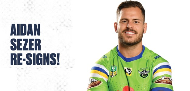 Aidan Sezer Re-Signs with the Raiders
