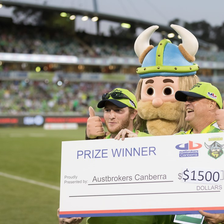 Austbrokers Canberra letting Raiders fans Cash-In!