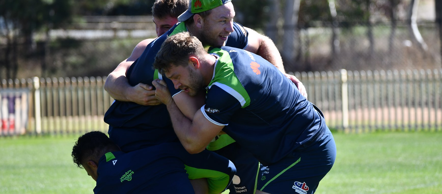 Gallery: Raiders prepare for Manly
