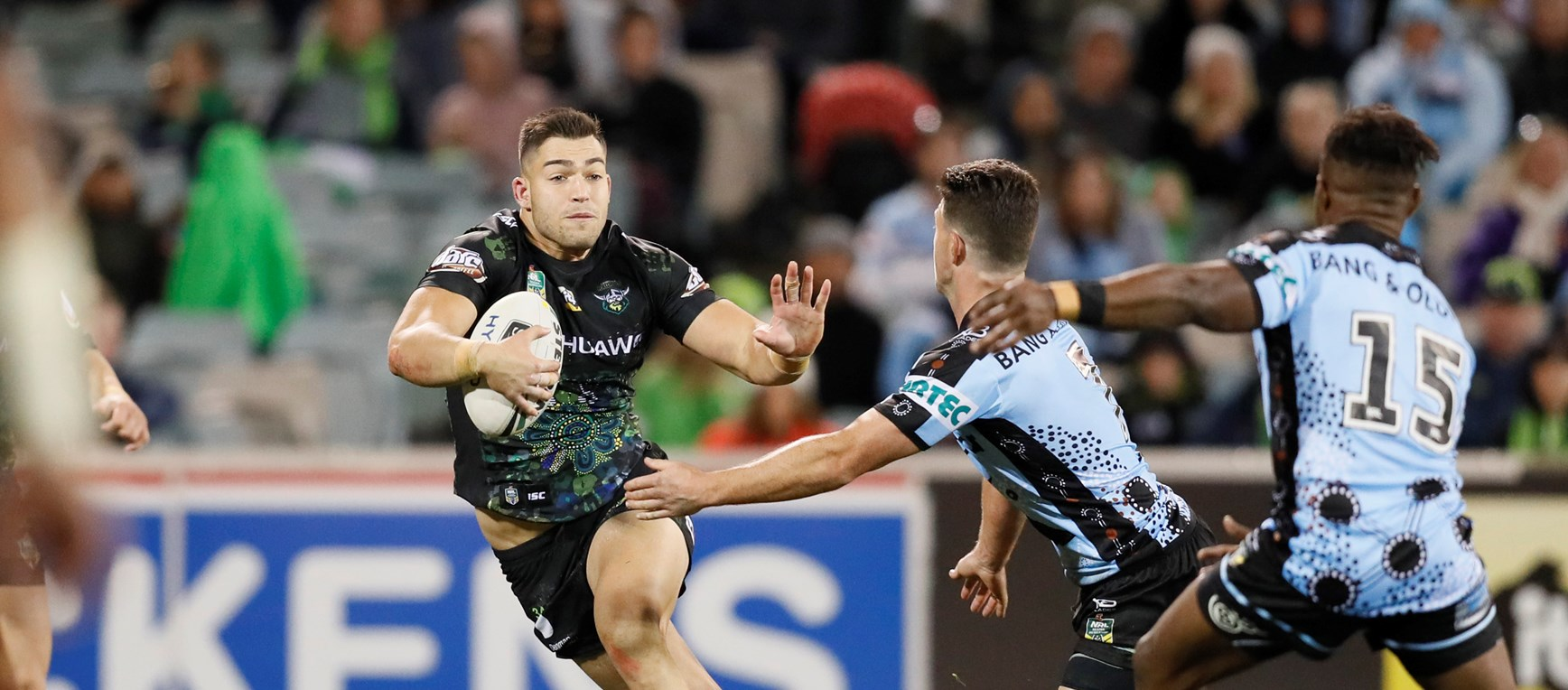 Gallery: Raiders v Sharks
