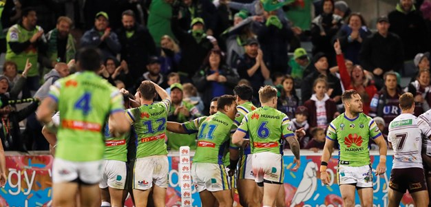 Round 12 by the numbers: Raiders v Sea Eagles