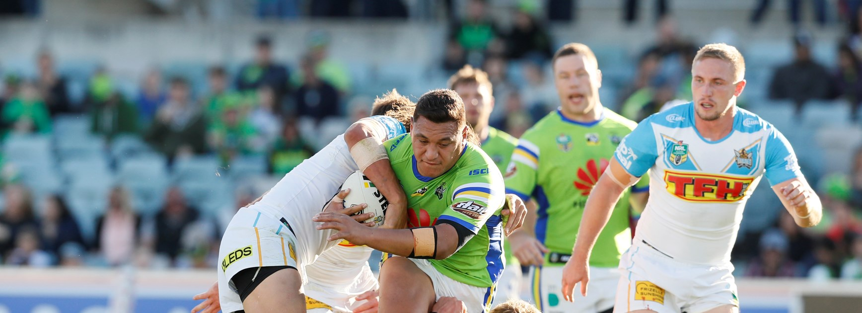Raiders avenge Round 1 defeat against the Titans