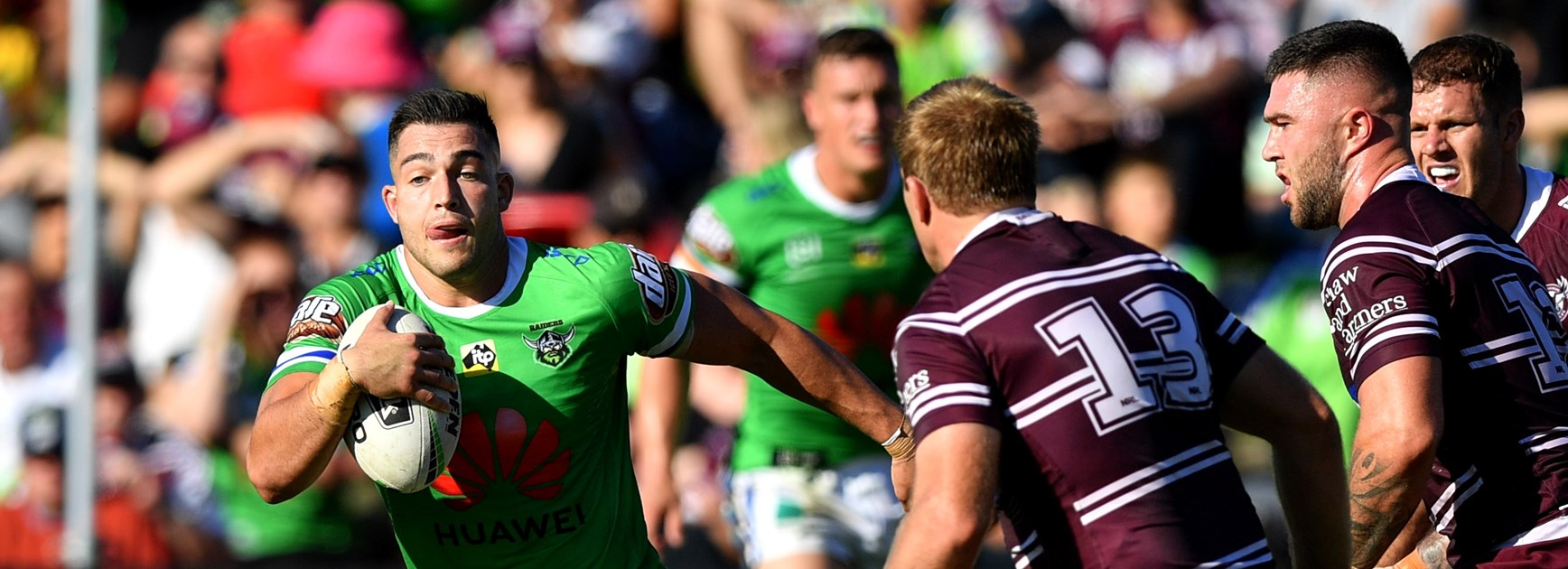 Raiders beaten by Manly at Lottoland