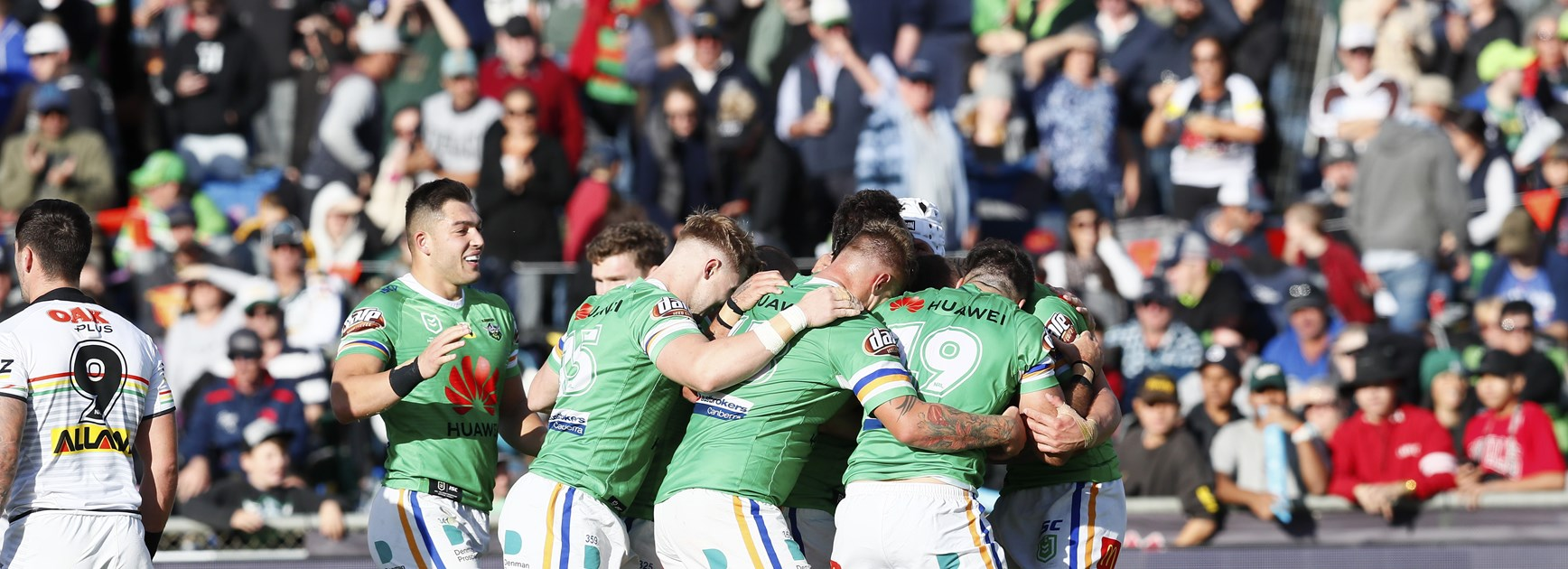NRL Match Report: Raiders thrash Panthers