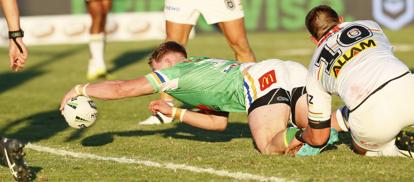 Gallery: Raiders triumph over Panthers in Wagga Wagga
