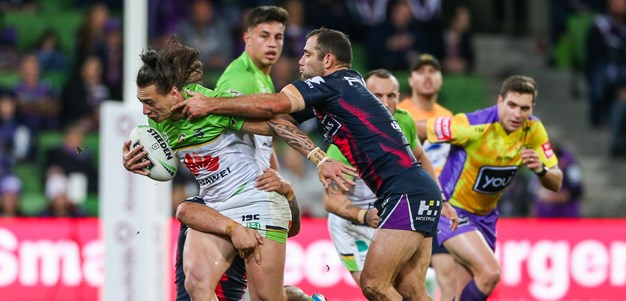 By the numbers: Raiders v Storm