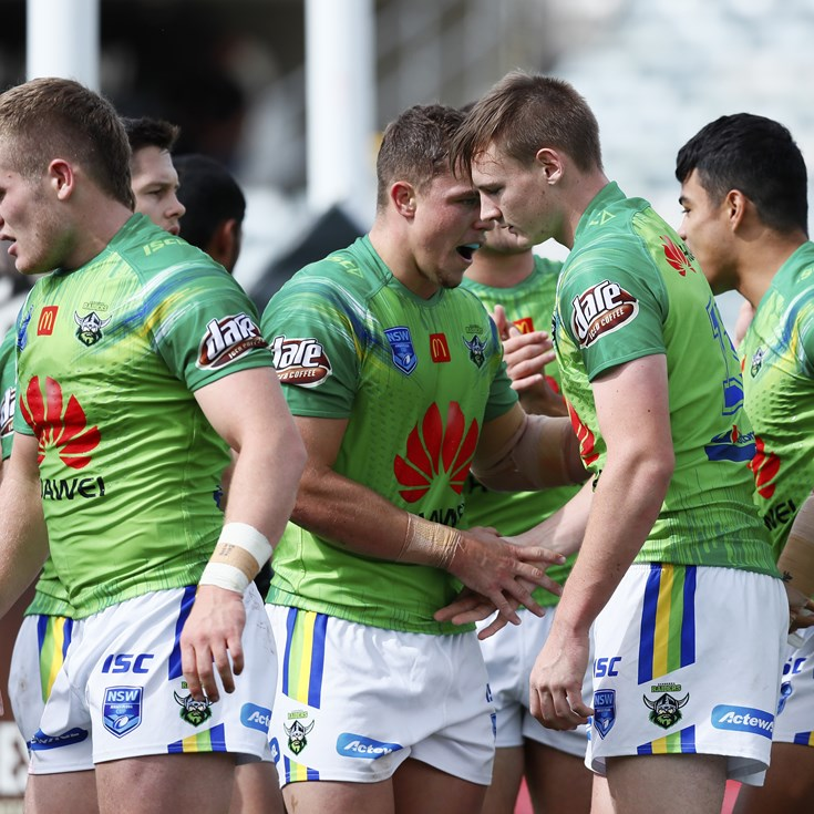 Jersey Flegg Team List: Raiders v Sea Eagles