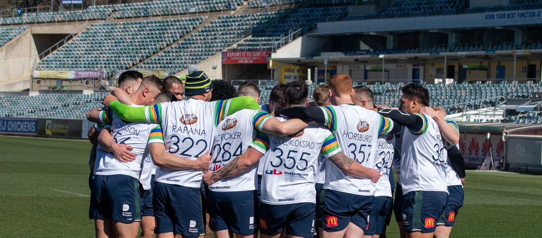 Gallery: Raiders train ahead of Sea Eagles showdown