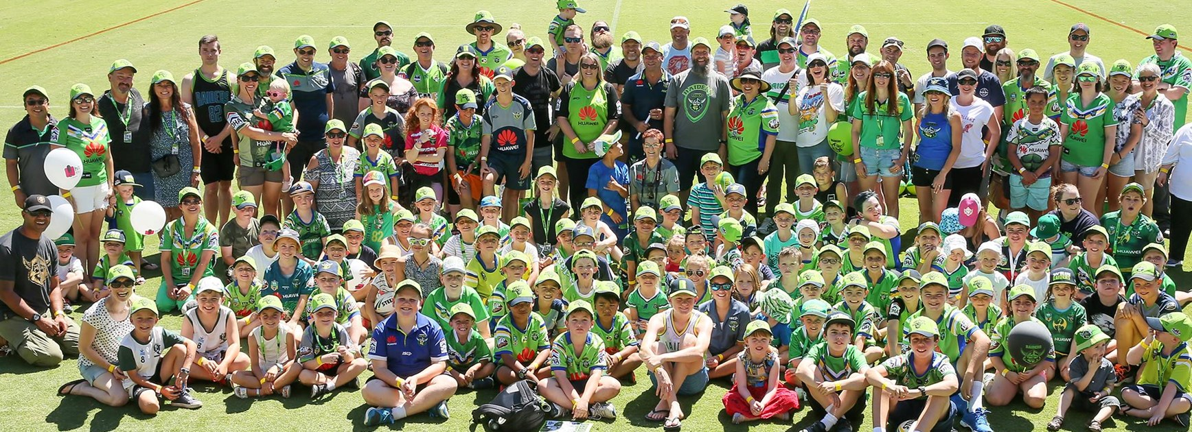 Canberra Raiders 2019 fan day