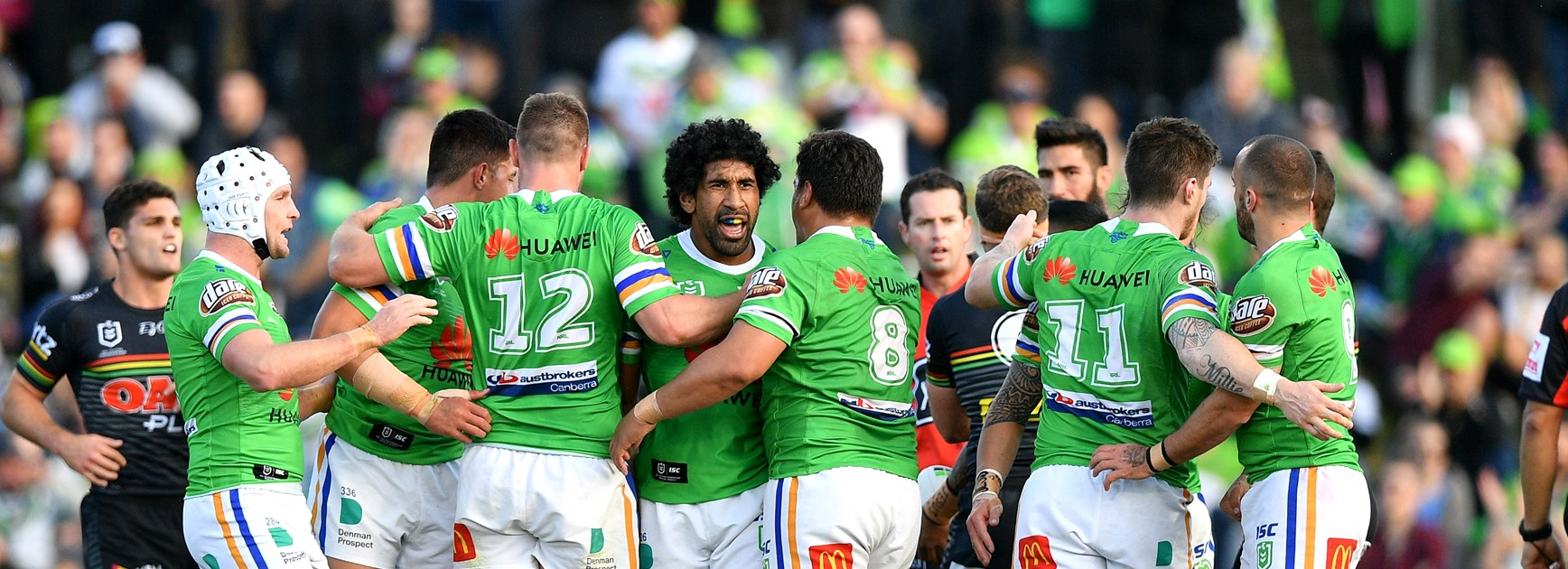NRL Match Report: Raiders end Panthers win streak
