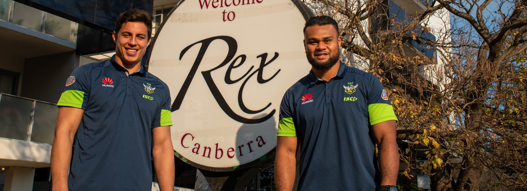 Raiders partner with the Canberra Rex Hotel