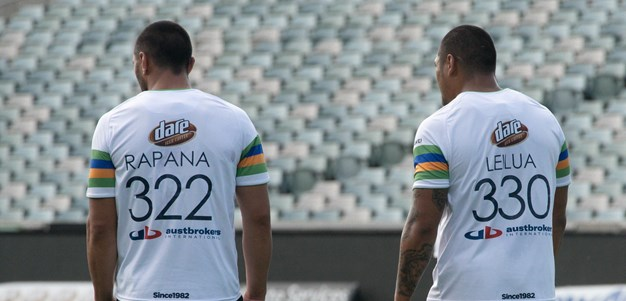 Captain's Run: Raiders v Storm
