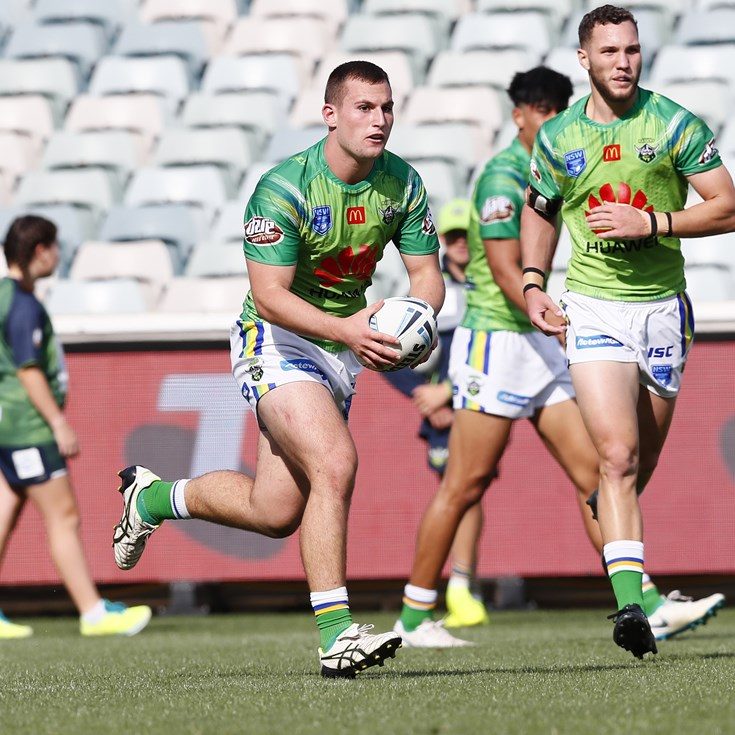 Jersey Flegg Team List: Raiders v Rabbitohs