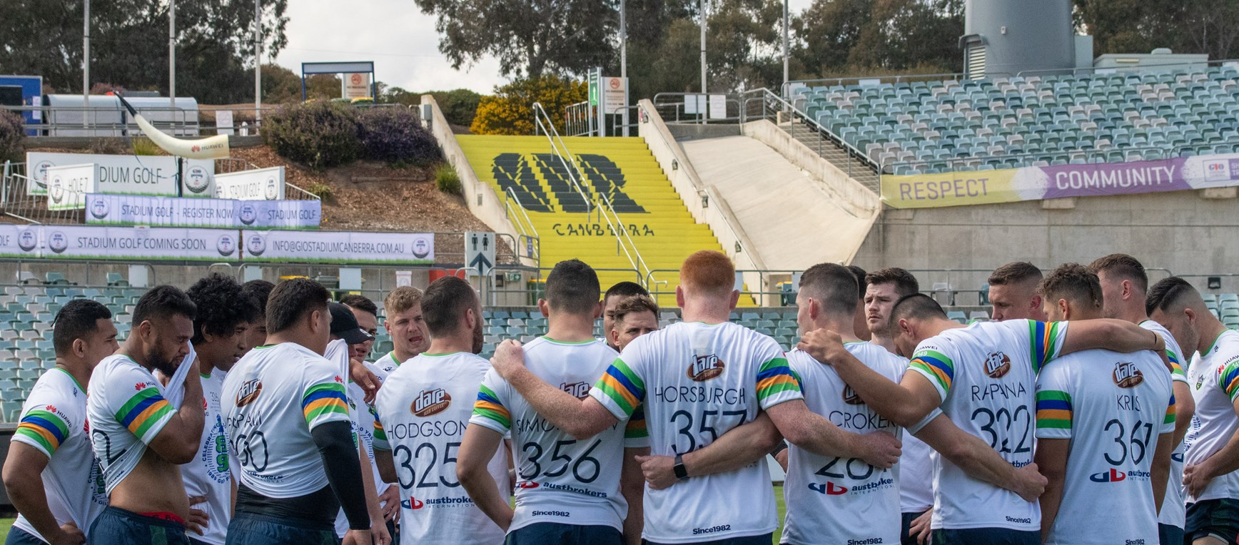 Gallery: Raiders Ready For Home Preliminary Final