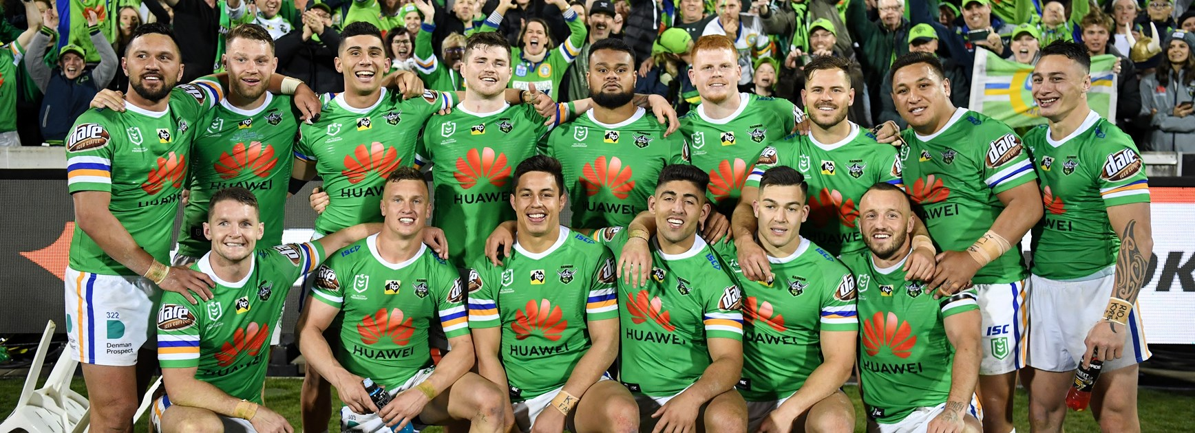 Huawei to invite 2019 Raiders members to watch training before NRL Grand Final