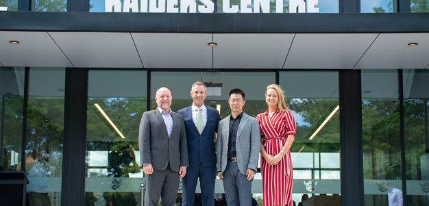 Huawei set to end Raiders major sponsorship
