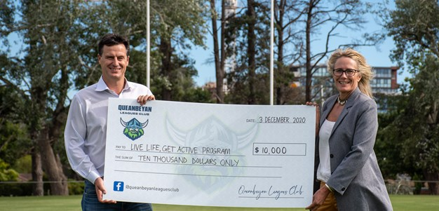 Queanbeyan Leagues Club $10,000 commitment to Eurobodalla Shire Council