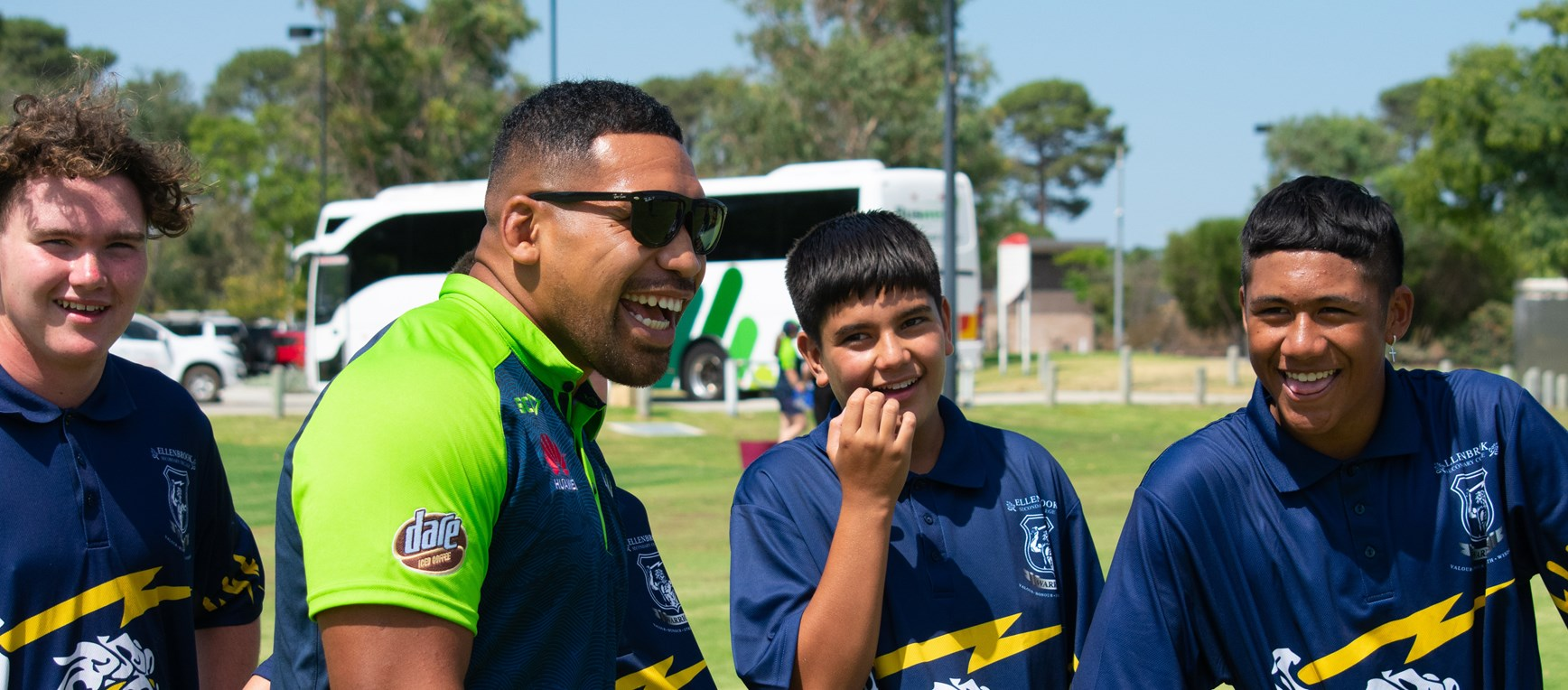 Raiders School Visit in Perth