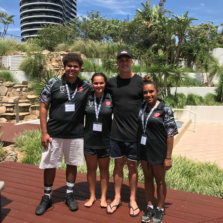 Raiders School to Work students enjoy All-Stars Camp