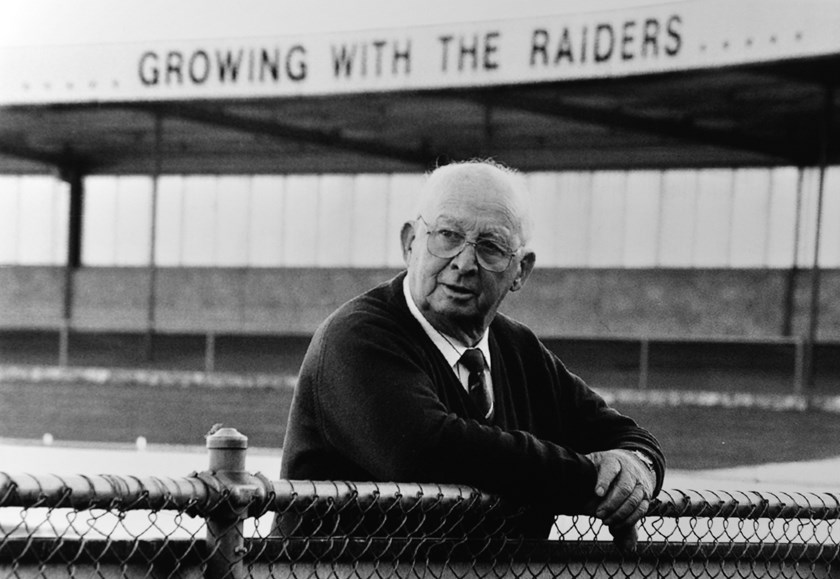 Raiders Founding Father Les McIntyre