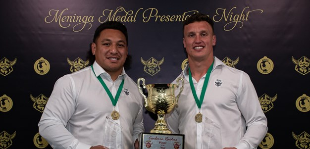 Josh Papalii and Jack Wighton win 2020 Meninga Medal