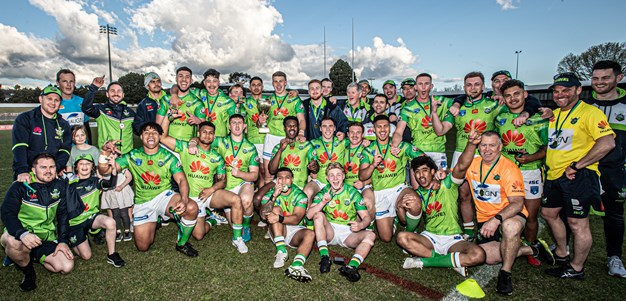 Raiders U20's win CRRL Cup