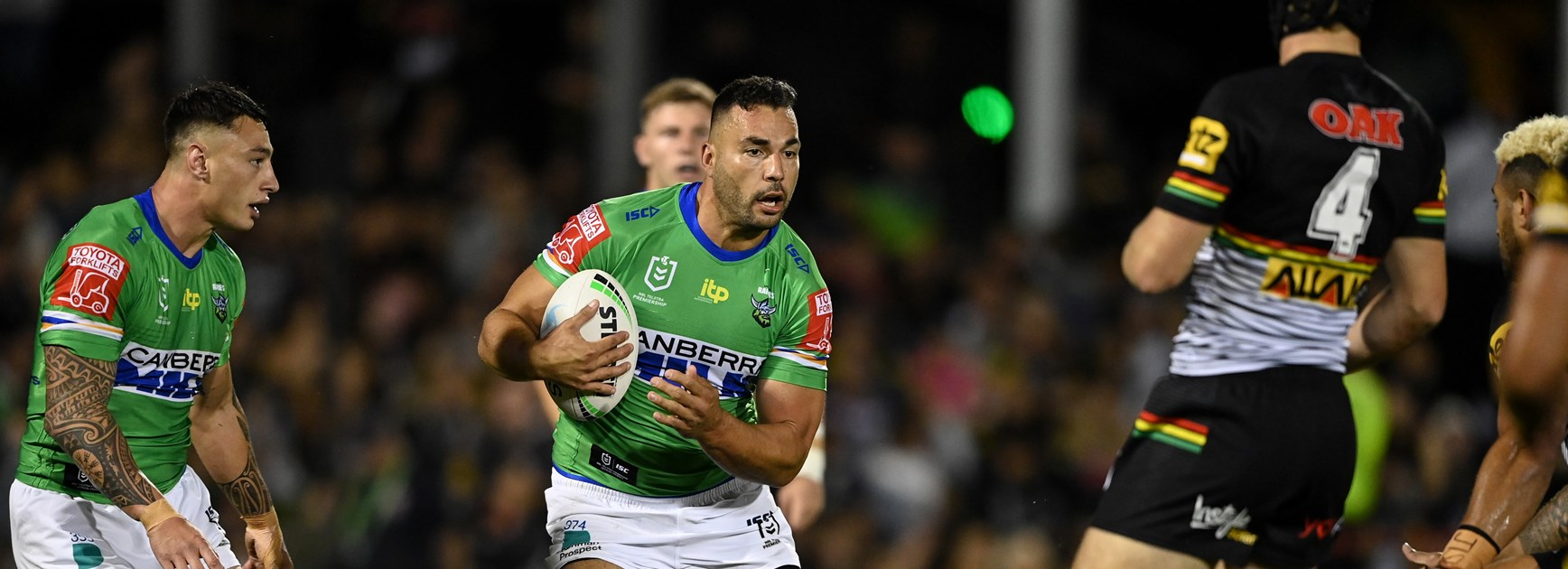 NRL Match Report: Raiders suffer Panthers defeat