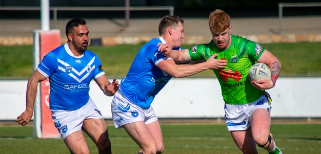 Raiders Under 20s too good for Blues