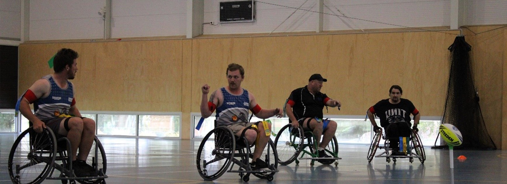 Canberra Region Wheelchair Rugby League Round One Preview