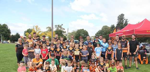 Bungendore Tigers Juniors win NSWRL #RESPECT Award