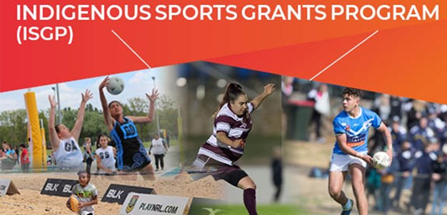 Important changes to Indigenous Sports Grants Application for 2021
